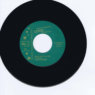 The Dusters - Rock At The Hop / Shes Mine - Two Wild Rockabilly Jivers - Repro