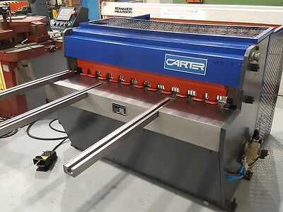 Carter 3.5 x 1250mm  guillotine with rear sheet support, £3,950 plus VAT(20576)