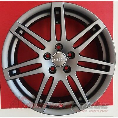 F332 Ma Kit 4 Cerchi In Lega Da 18 Et35 Audi Q3 Rs 8U 8U1 Q5 Sq5 8R Rs4 Italy S