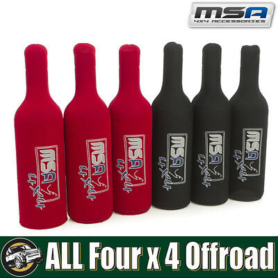 MSA 4X4 - Wine Bottle Tubes Cooler Holder Koozie WTS