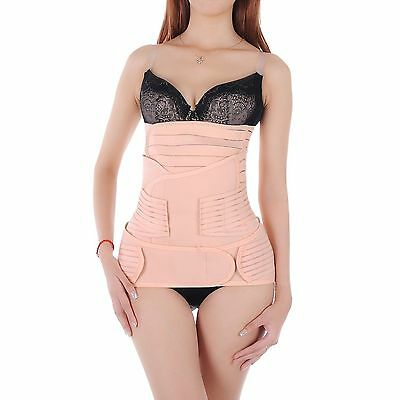 Hip Mall 3 in 1 Postpartum Belly Wrap Girdle Support For Stomach Waist Pelvis