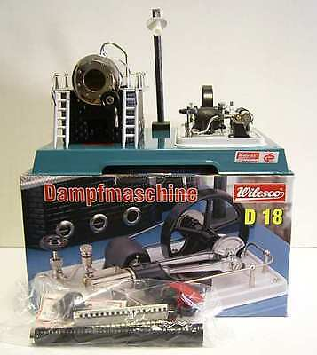 AU-Special: WILESCO D18 NEW TOY STEAM ENGINE - SEE VIDEO - Postage Free !