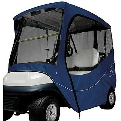 Classic Accessories Fairway Travel Golf Car Enclosure- Short Roof- Navy NEW