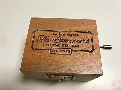 "The Lumineers Fan Club Exclusive Music Box Plays ""Ophelia"""