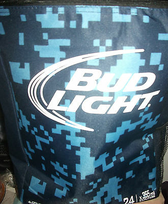 Bud Lite Budweiser 24 Can Cooler Knapsack Insulated