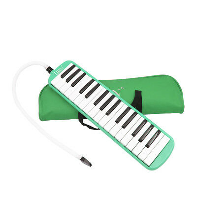 32 Keys Piano Keyboard Style Melodica Harmonica Lovers Musicians Gift Green