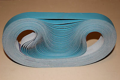 1x30 400 Grit Film Sanding Belts for Knife Sharpening-Compare to Micron-10 Belts