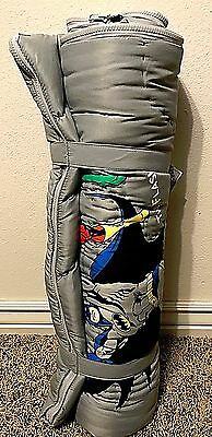 Pottery Barn Kids Justice League super hero sleeping bag NEW WITH TAGS superman