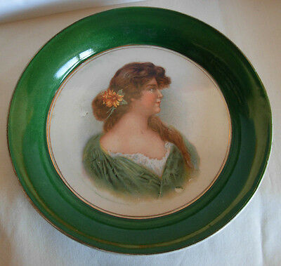 Antique Imperial Russian Porcelain Plate By Kuznetsov