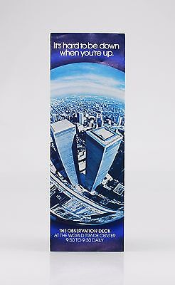 World Trade Centre Twin Towers in New York USA Brochure (DZ88)