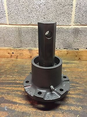 "Skid Steer Bobcat Hydraulic Auger Attachment Spindle 2"" Hex"