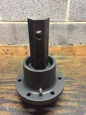 "Skid Steer Hydraulic Auger Attachment Spindle 2"" Hex"