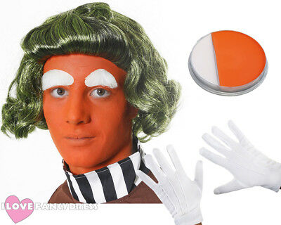 Adult Factory Worker Wig Book Week Day Character Fancy Dress Costume Accessory