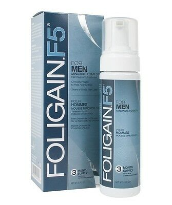 FOLIGAIN F5 FOAM 5%  3 Months Supply