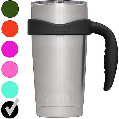 20 Oz Tumbler Handle - By Grab Life Outdoors®, Fits YETI, Ozark Trail & More