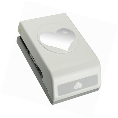 Large Heart Shape Paper Hole Punch For Scrapbooking Card Making Quilling New