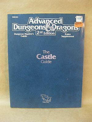 Advanced Dungeons & Dragons ~ The Castle Guide ~ TSR Vintage Book