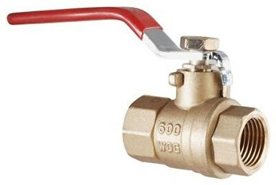 LDR 022 2232 3/8-Inch IPS Full Port FIP Ball Valve Lead Free Brass