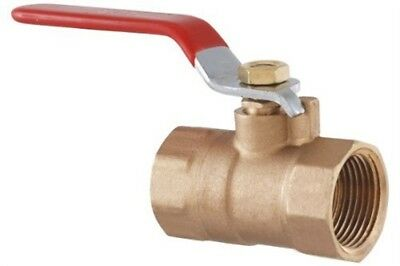 LDR 022 2204 3/4-Inch IPS Ball Valve, Lead Free Brass