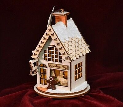 Ginger Cottage GC104 Yesterday's Toys Hand Made USA America NIB Ornament Village
