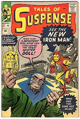Tales Of Suspense #48. Marvel Dec 1963. New Iron Man Armor. VG Pence