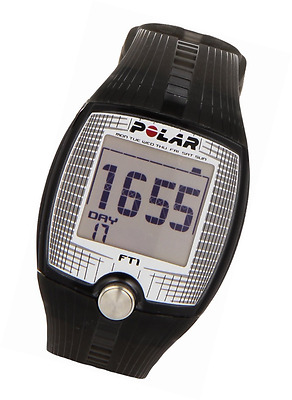 Heart Rate Monitor and Sports Watch Black Polar FT1 Fitness Gadget Running GPS