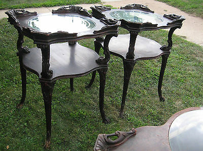 Victorian Adams Coffee Table and 2 End/Side Tables