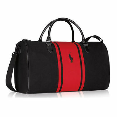 Ralph Lauren  Polo Red  Duffle  Weekender Travel Gym Bag  NEW Authentic!