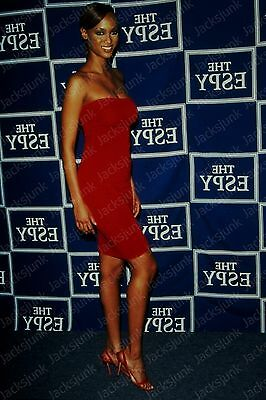 vintage celebrity 35mm Slide -  tyra banks   *qu18