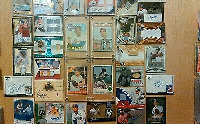 100 Card Relic/Auto Baseball Packs:Find Mantle,Mays,Bellinger, Judge