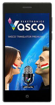 "Vasco Translator Premium 5"" Electronic Translator with Voice Recognition"