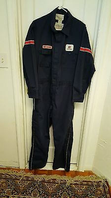 Vtg United Airlines Mechanical Unitog,union Made, Overalls, Usa,sz.42 Mens