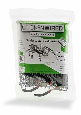 Chickenwired art sculpture kits Spider & Ant sculptures educational creative kit
