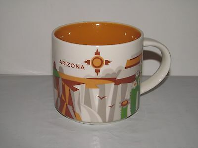 2013 Starbucks Arizona YOU ARE HERE Collection 14 Oz. Cup Mug EUC