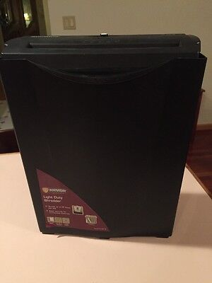 Armor Light Duty Paper Shredder