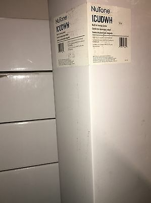 NUTONE Ironing Board Center ~ BUILT IN WALL ~ White Raised Panel Door ICUDWH NIB