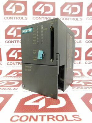 Siemens 6ES7 315-2AF03-0AB0 CPU W/POWER SUPPLY SIMATIC .9AMP 24VDC 64KB - Used