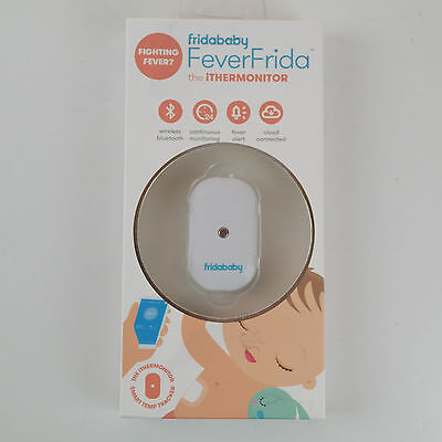 Fridababy FeverFrida The Thermonitor  Bluetooth Wireless Thermometer Monitor NEW