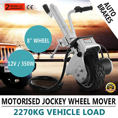 Motorized Trailer Jockey Wheel Mover Electric Jack Stands Power Mover Caravan UK
