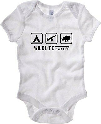 Baby Bodysuit SP0151 Wildlife Maglietta