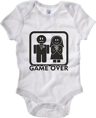 Baby Bodysuit T0004 GAME OVER