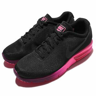 Wmns Nike Air Max Sequent Black Pink Womens Running Shoes Sneakers 719916-015