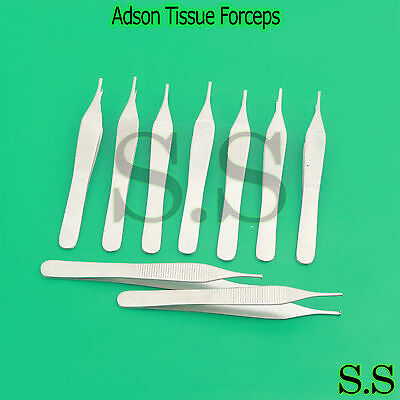 100 Adson Tissue Forceps Surgical Veterinary Instruments