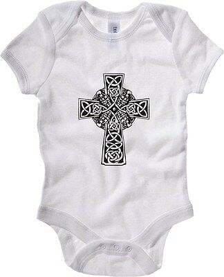 Baby Bodysuit TIR0252 Irish Cross