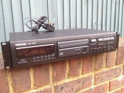 Tascam CD 150 Deck With Pitch Control - Rack Mount