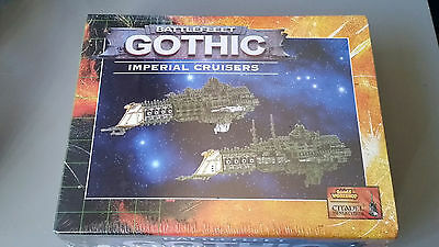 Battlefleet Gothic - Imperial Cruisers Box Set - New and Sealed OOP