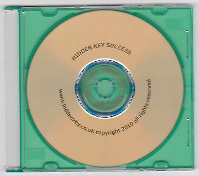 Hypnotherapy CD Secret Path to Success Future Goal Therapy HIDDEN KEY hypnotism