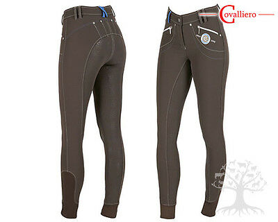 Mega Savings! Stunning Covalliero Ladies Softshell Breeches Full Silicone Seat