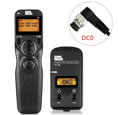 PIXEL TW-283/DC0 LCD Wireless Shutter Release Remote Control for Nikon D800 D3