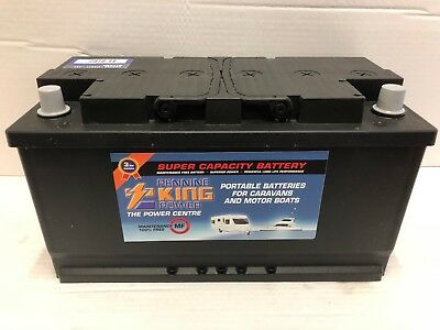 12V 110Ah Leisure Battery Heavy Duty Deep Cycle Low Height  110 Amp